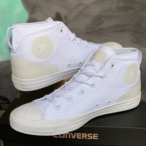 CONVERSE CTAS SYDE STREET MID WHITE/WHITE MENS